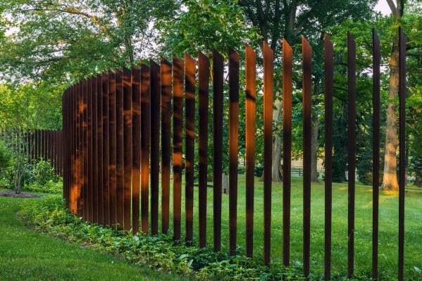 Modern Ideas For Dog Fence Steel Beam Posts