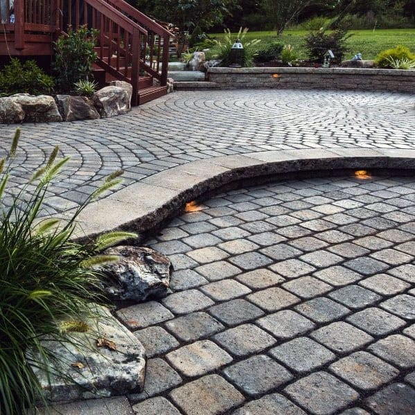 Modern Ideas For Paver Patio