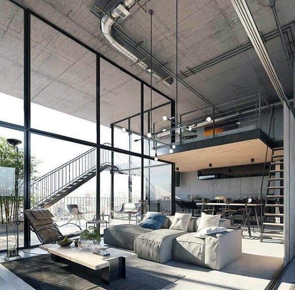 Modern Industrial Interior