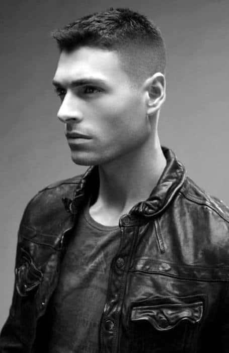 Modern Ivy League Haircut For Males