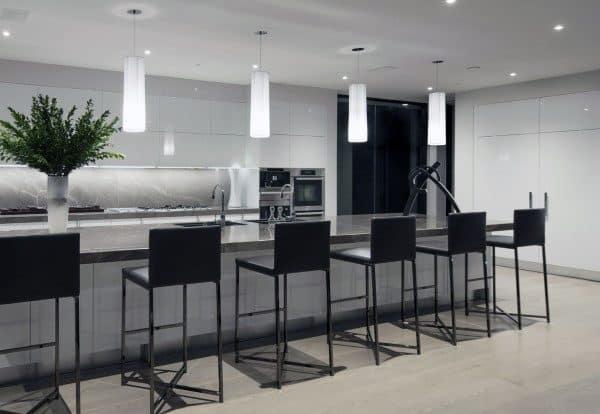 Modern Kitchen Bar Seating Stools Design Ideas