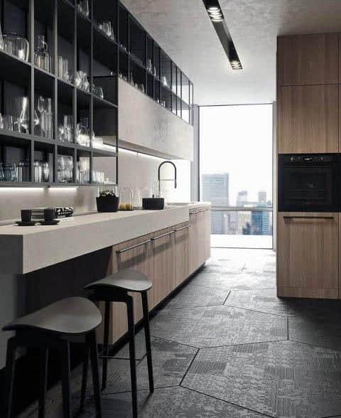Modern Kitchen Counterstop Designs