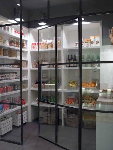 modern kitchen pantry designs top 70 best kitchen pantry ideas organized storage designs 7730