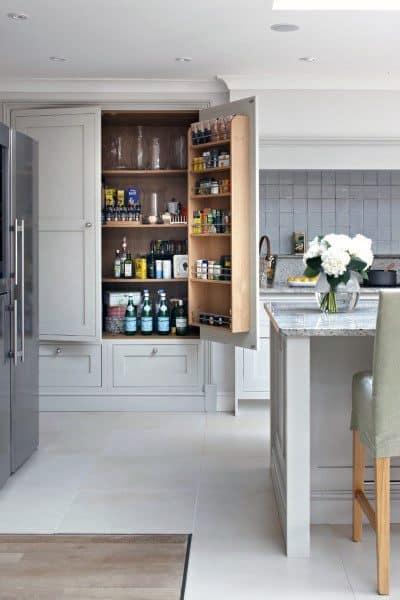 Modern Kitchen Pantry Organization Ideas