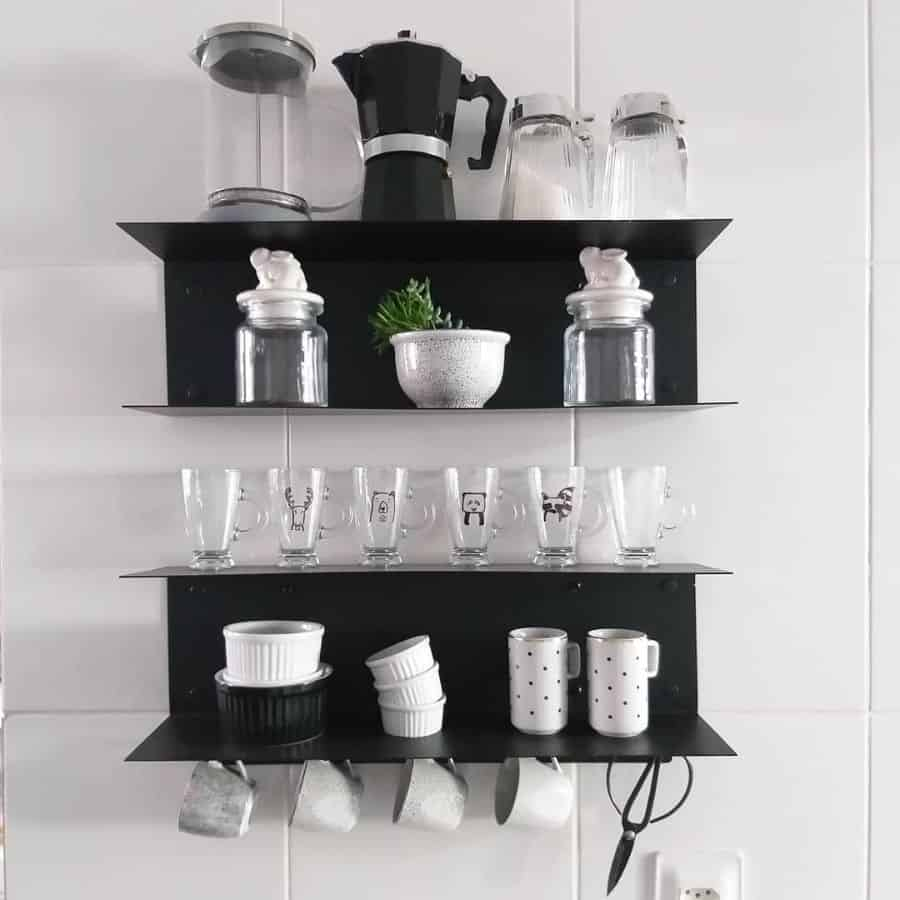 modern kitchen shelving ideas 4.4home