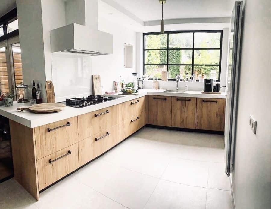modern kitchen window ideas huize_kaat