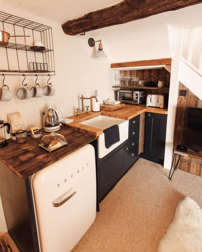 modern kitchenette ideas thegranarydevon