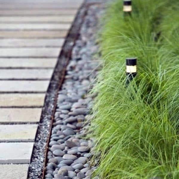 Modern Landscape Details Gravel Walkway