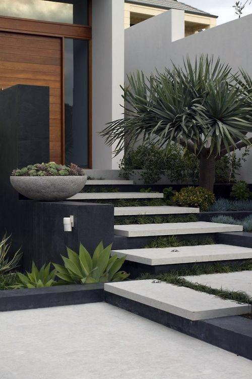 Modern Landscape Ideas For Front Of House