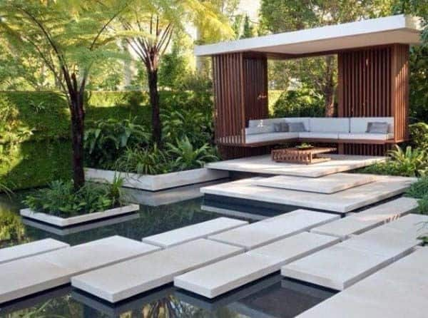oriental ideas of modern landscape design | Top 70 Best Modern Landscape Design Ideas - Landscaping ...
