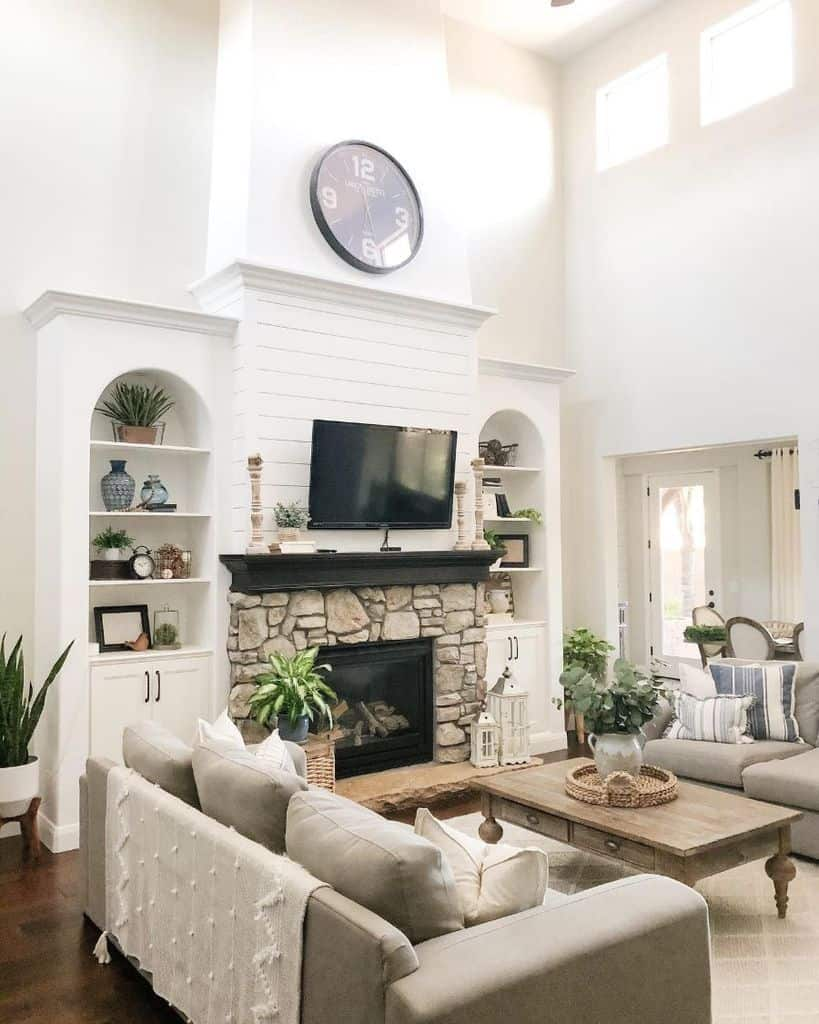 The Top 34 Large Wall Decor Ideas For Living Rooms Interior Home And Design