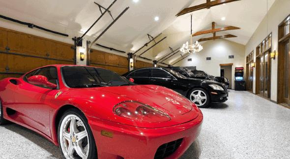 Modern Led Garage Lights