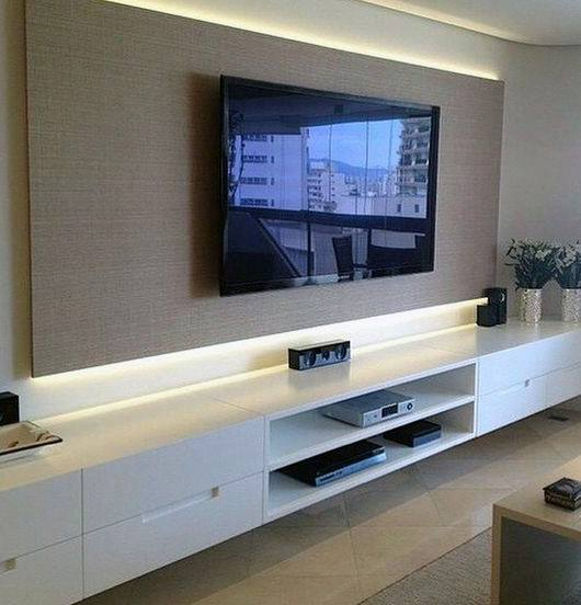 Modern Led Lighting Design Ideas For Tv Wall