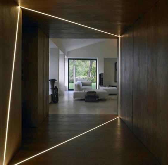 Modern Led Strips Hallway Lighting Spectacular Ideas