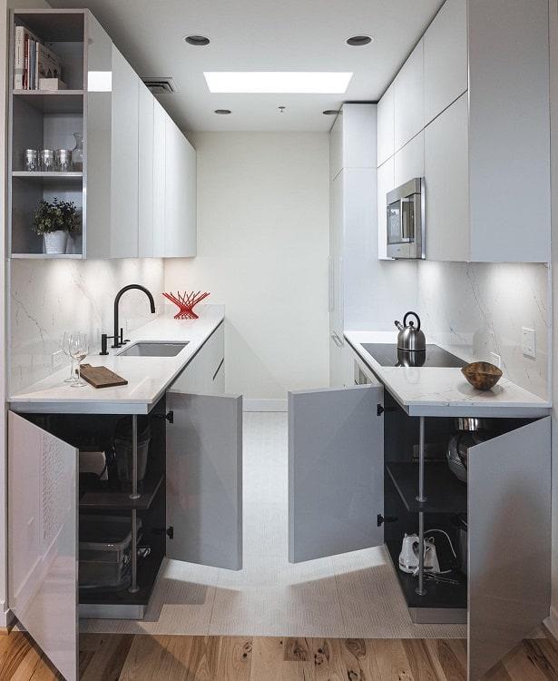 Modern Living Corner Kitchen Cabinet Pedinipdx