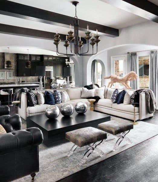 Top 50 Best Modern Living Room Ideas - Contemporary Designs