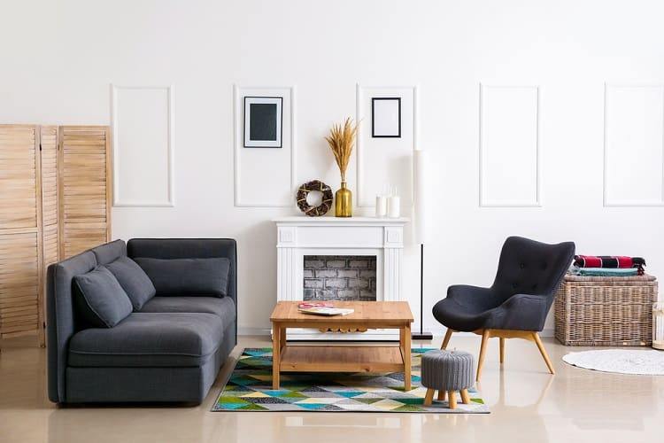 Modern Living Room Mantel Decor