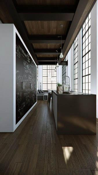 Modern Loft Kitchen Design Ideas
