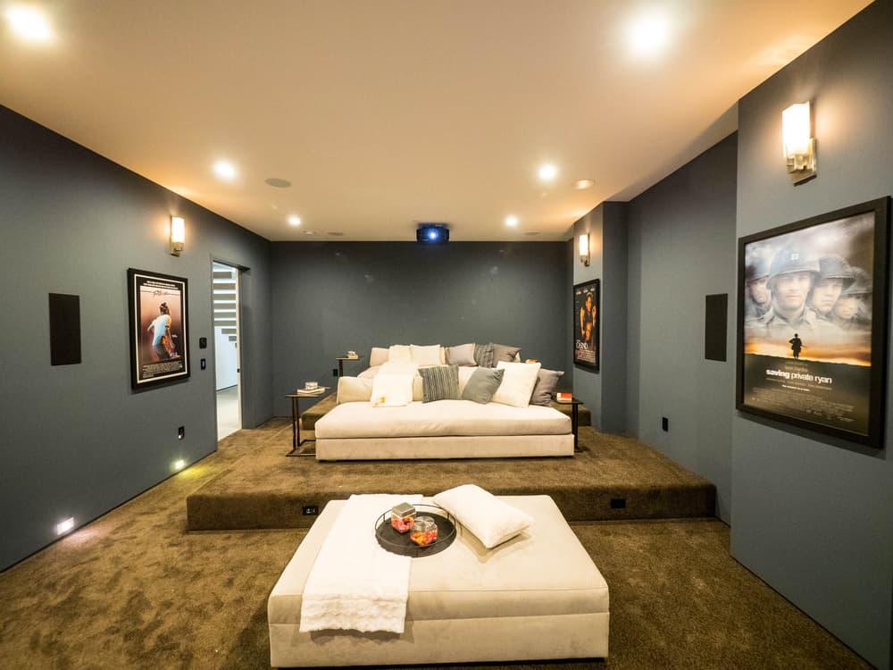 modern low basement ceiling ideas 1