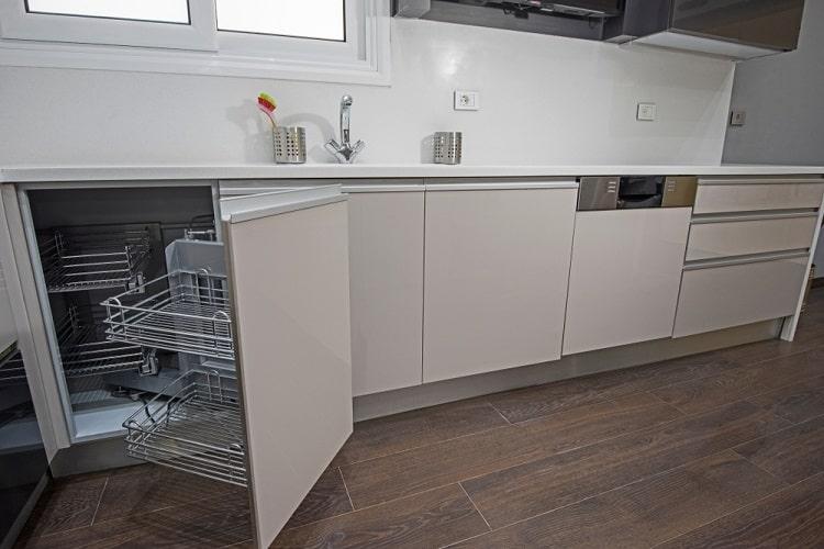 Modern Luxury Corner Kitchen Cabinet
