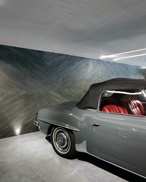 Modern Luxury Garage Wall Ideas