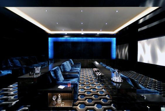 Modern Luxury Home Theater Inspiration
