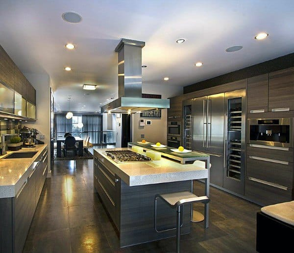 Top 70 Best Modern Kitchen Design Ideas - Chef Driven Interiors