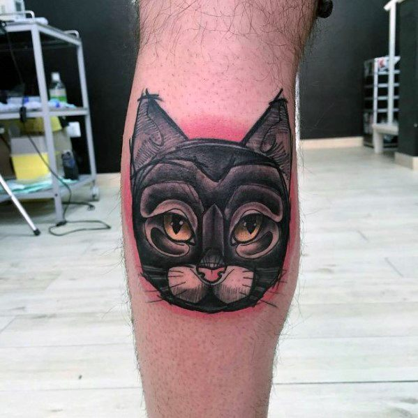 Modern Male Cat Tattoos
