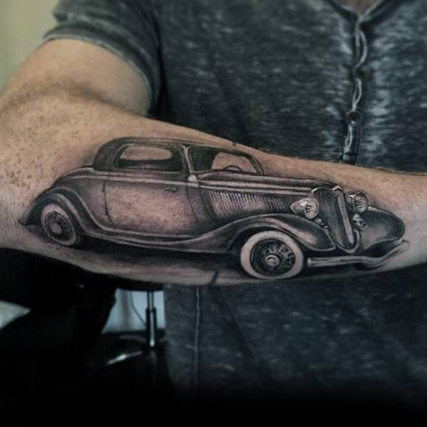 Modern Male Ford Tattoos