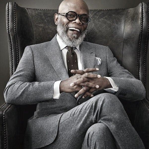 Modern Male Grey Suit Styles