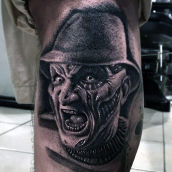 Modern Male Horror Movie Tattoos