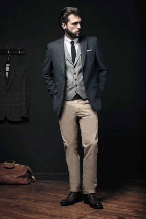 Modern Male Khaki Pants What To Wear With Outfits Styles