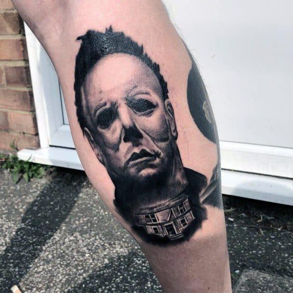 Modern Male Michael Myers Tattoos