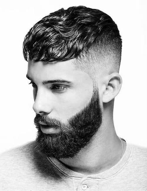 Modern Male Short Haircuts For Wavy Curly Hair