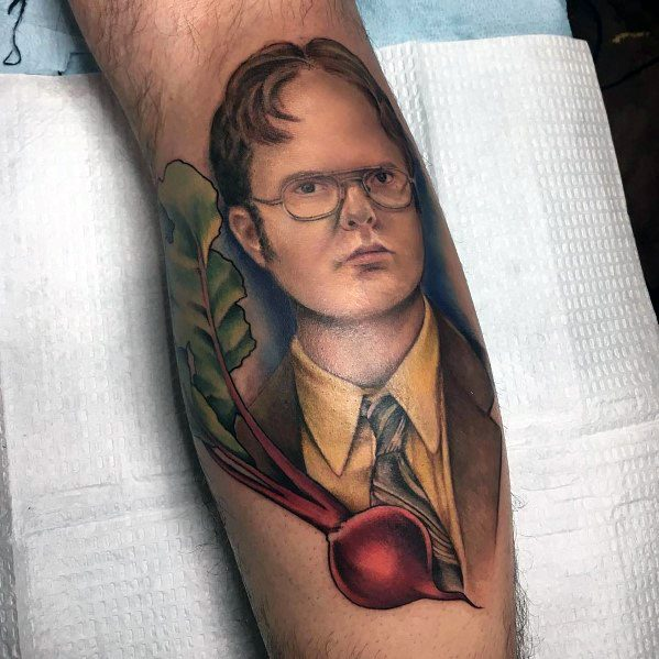 Modern Male The Office Tattoos
