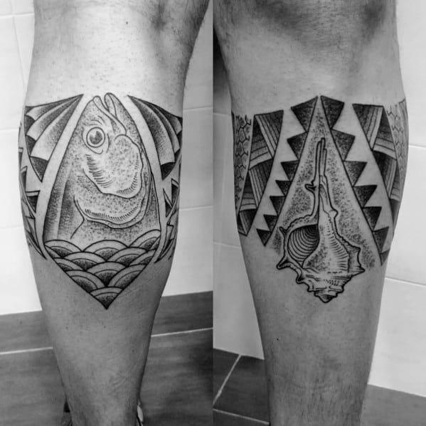 Modern Male Tuna Tattoos