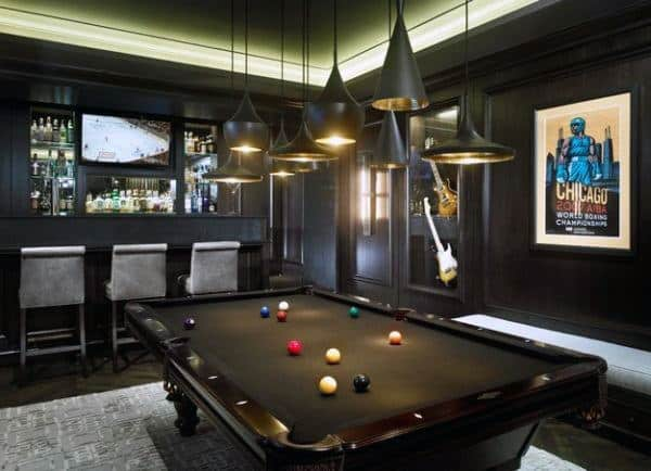 Ideas For A Man Cave Bar : Man cave bar ideas to slake your thirst manly home bars