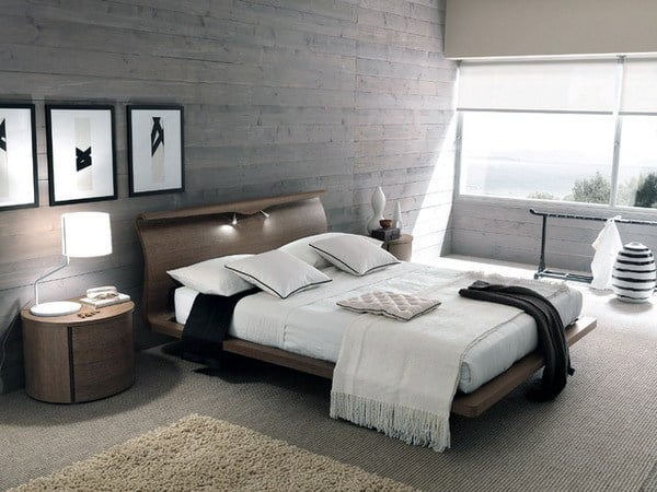 Mens bedroom modern design