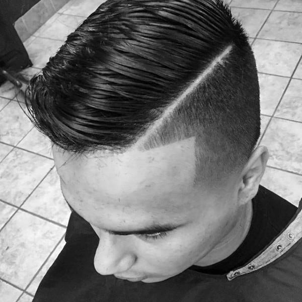Modern Mens Comb Over Haircut For Men