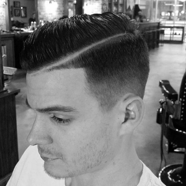 Modern Mens Comb Over Hairstyles