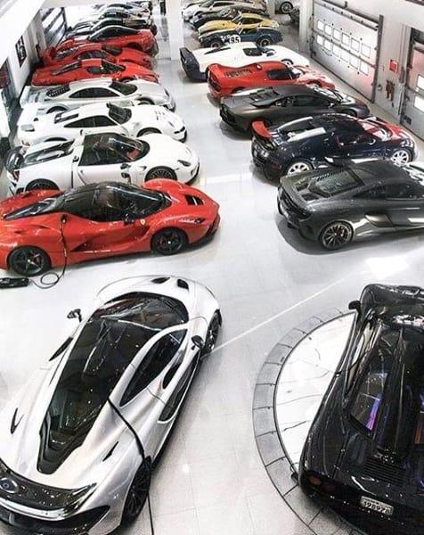 Modern Mens Dream Garage Ideas With Exotics