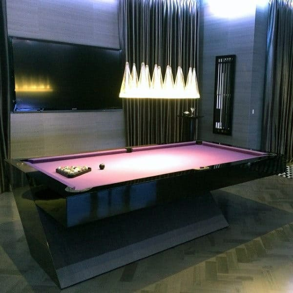 60 game room ideas for men cool home entertainment designs for Small pool table room ideas