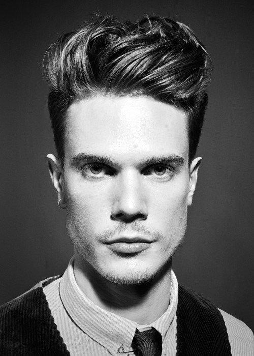 Modern Mens Quiff Hairstyle