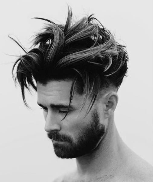 Modern Messy Mens Hairstyles Medium Hair