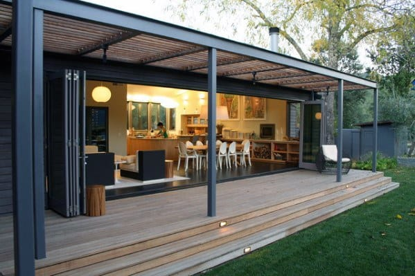 Modern Metal Deck Roof Design Inspiration