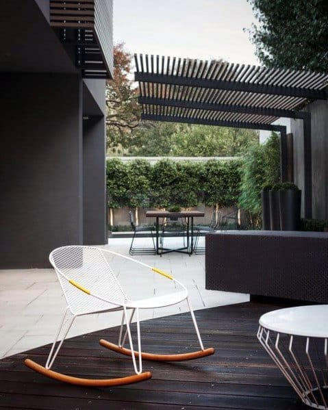 Modern Metal Idea Inspiration Patio Roof Designs
