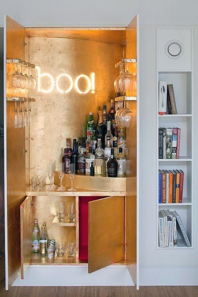 Modern Mini Bar Ideas