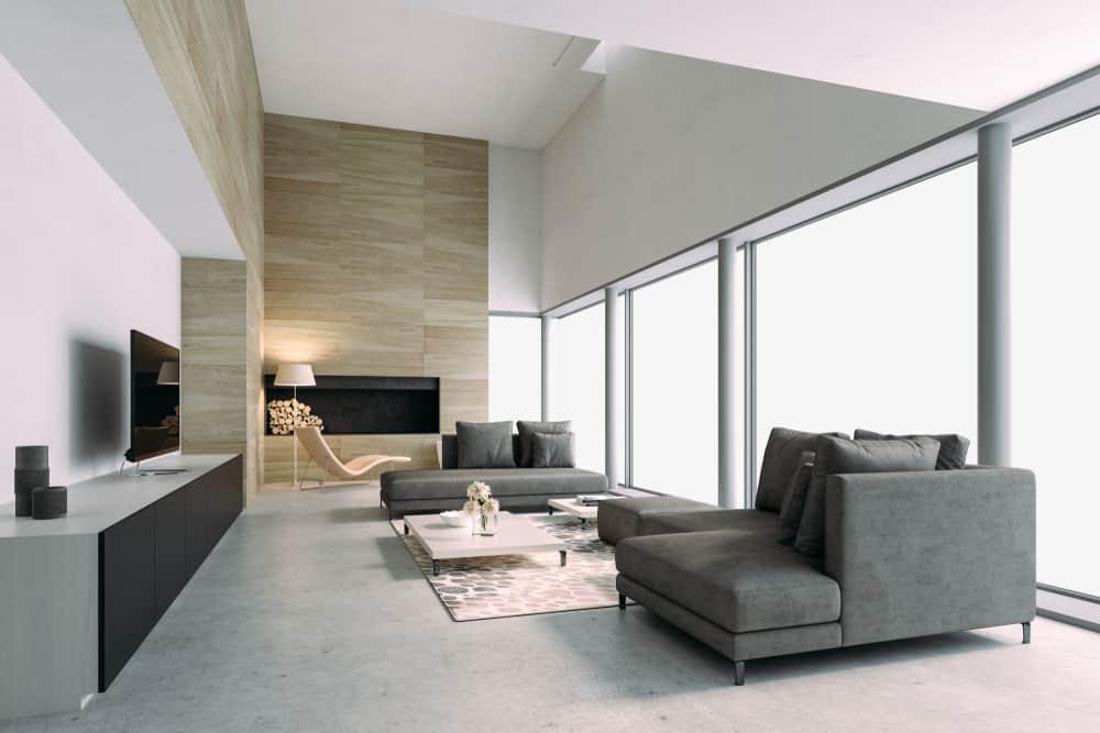Modern Minimalist Living Room 1