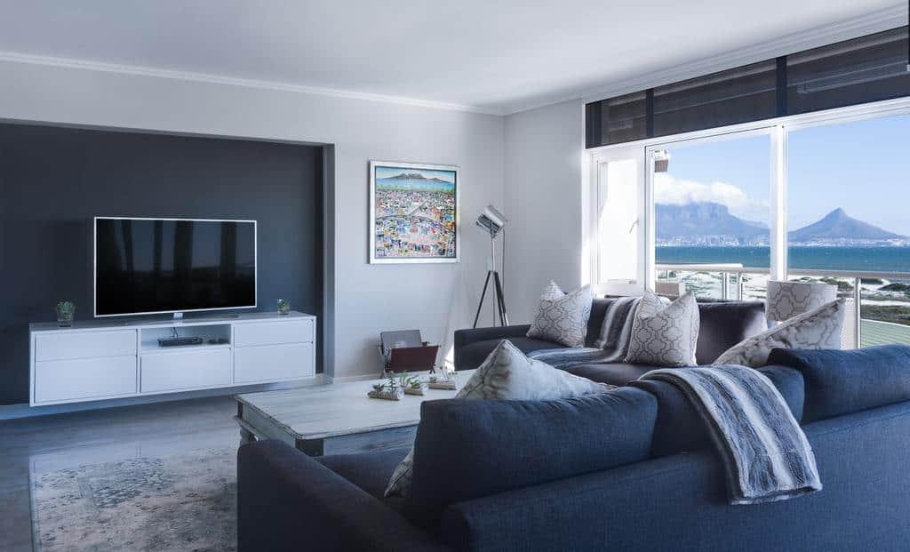 Modern Minimalist Living Room 10