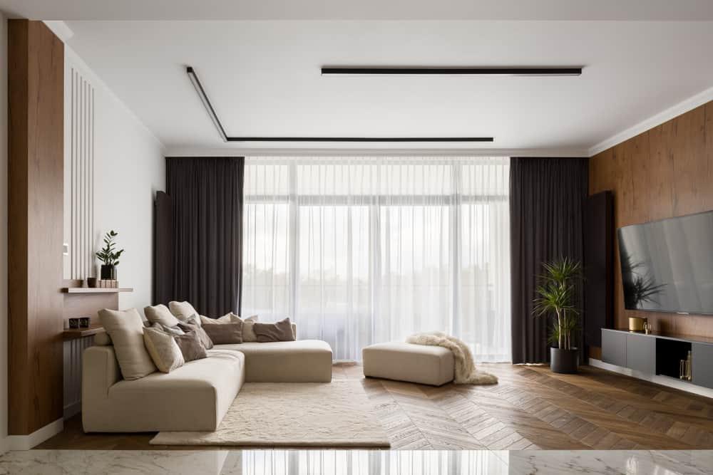 Modern Minimalist Living Room 2